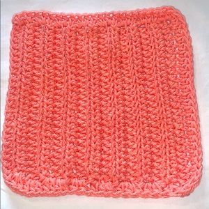 Hand Crafted Coral All Purpose 100% Cotton Cloth